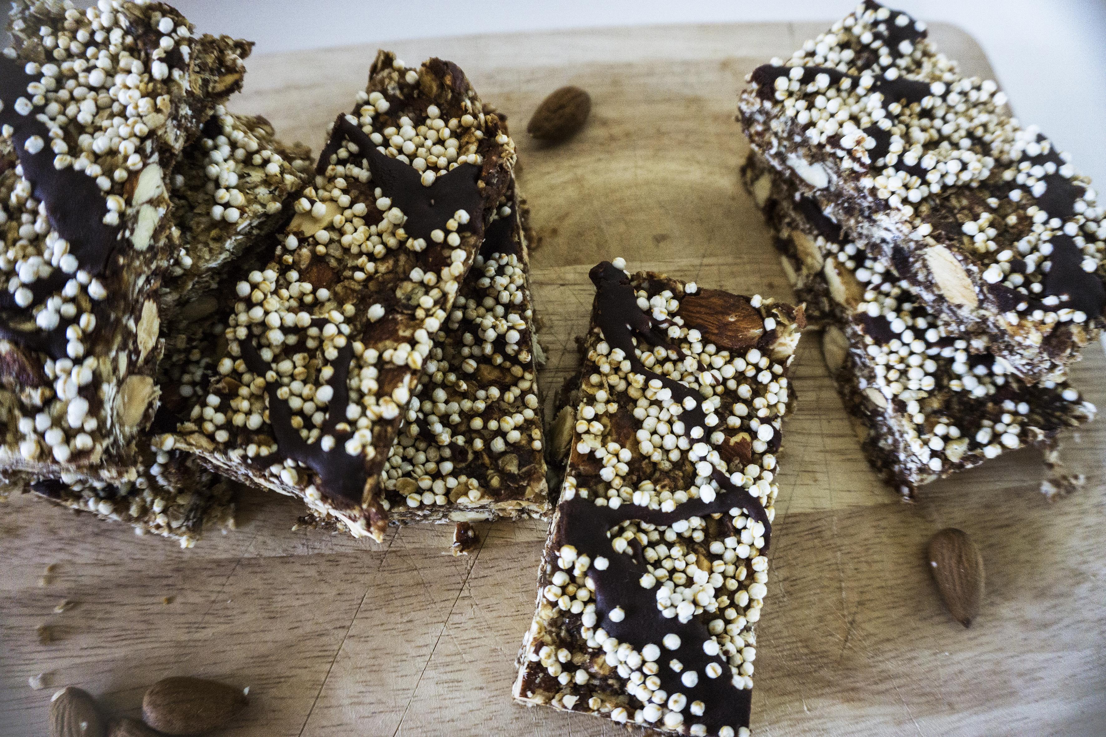 Müsliriegel mit Quinoa