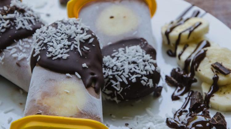 Schoko-Bananen-Kokos-Eis {vegan}