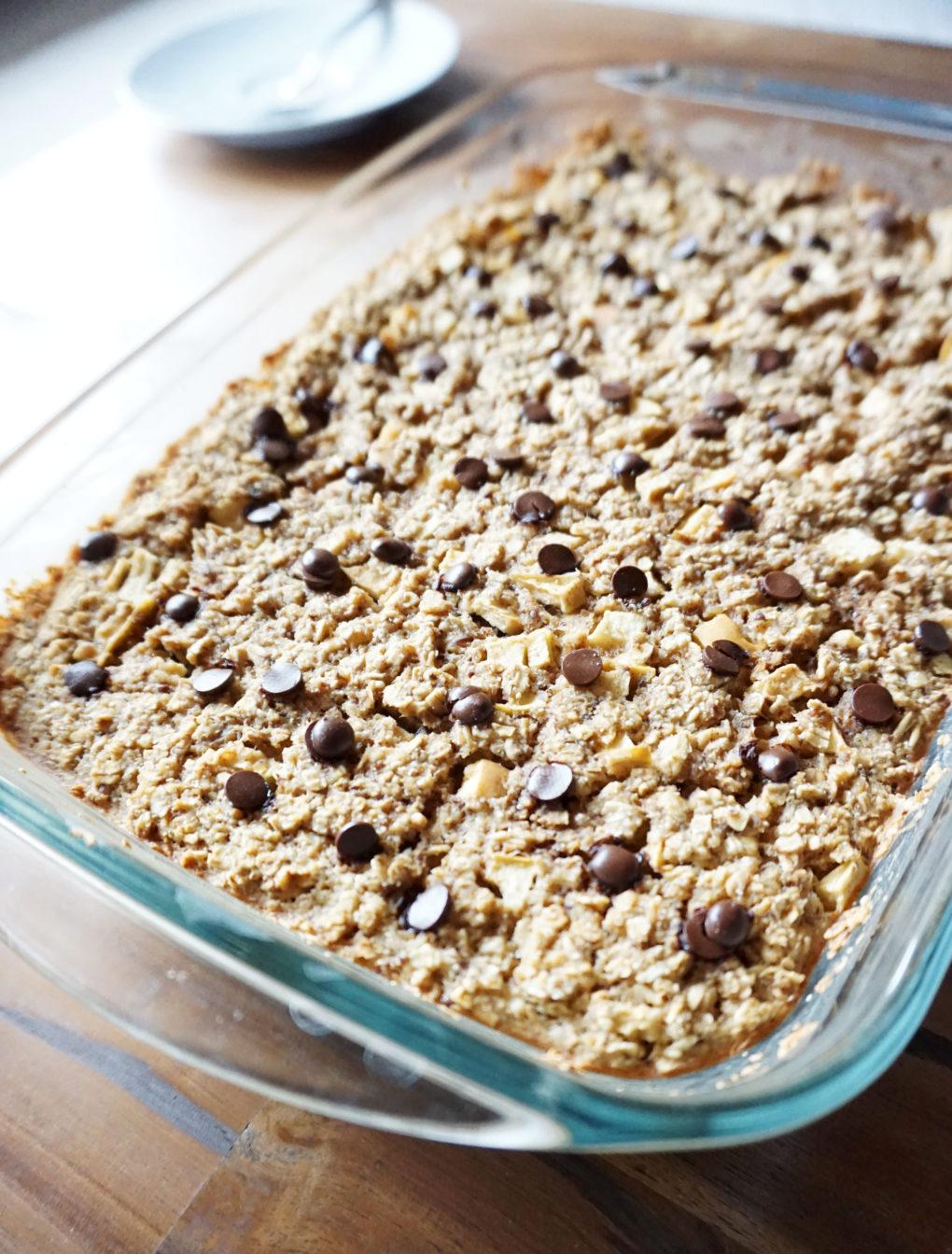 Gebackener Haferbrei - Baked Oatmeal - Frühstück zum Mitnehmen