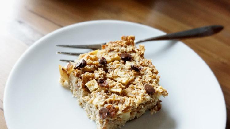 Gesundes Frühstück zum Mitnehmen: Baked Oatmeal